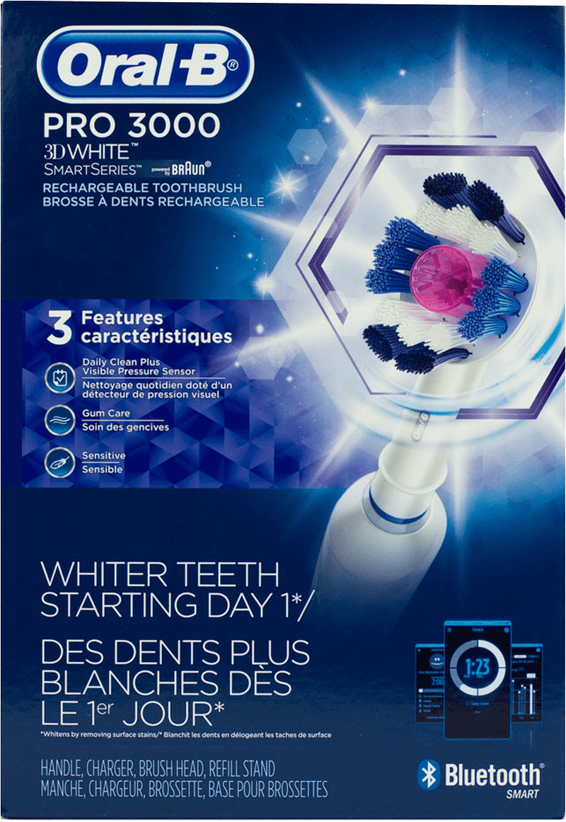 Oral-B 3000 Electric Toothbrush Gift for Teeth Whitening